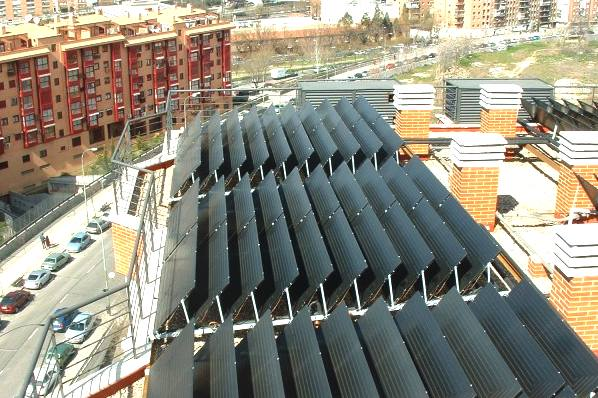 Solar Thermal Collectors For Free Domestic Central Heating